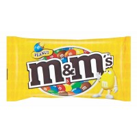 M&M'S CANDY COATED CHOC PEANUT 45GR