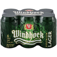 WINDHOEK LAGER CAN 330ML